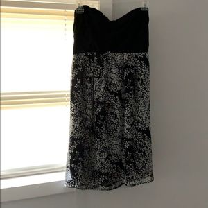 Strapless express dress